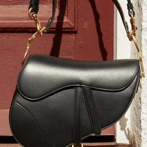 Designer inspired saddle bag size S